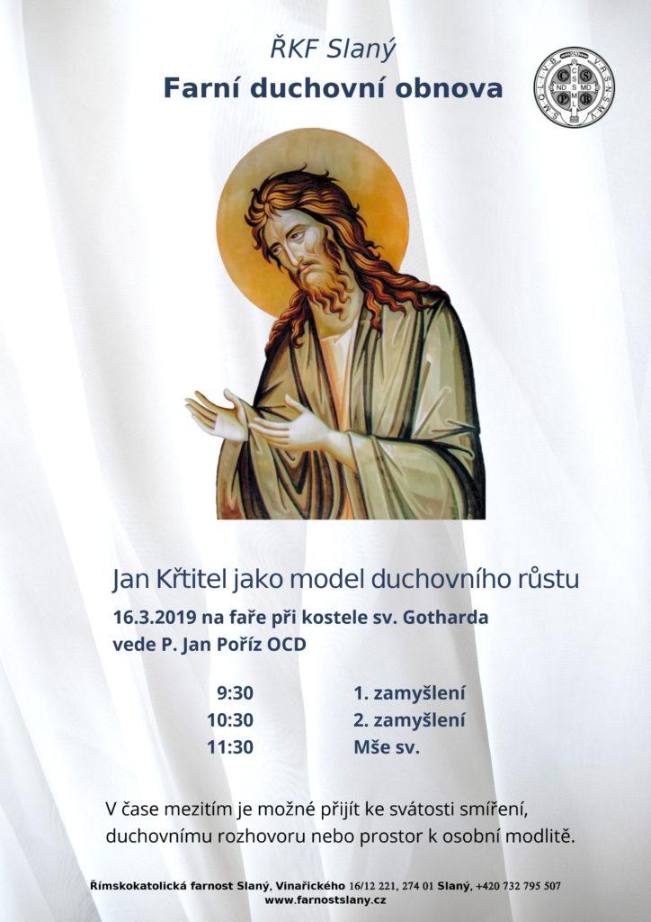 Farní duchovní obnova podle Jana Křtitele